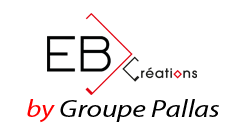 Logo EB Créations By Groupe Pallas