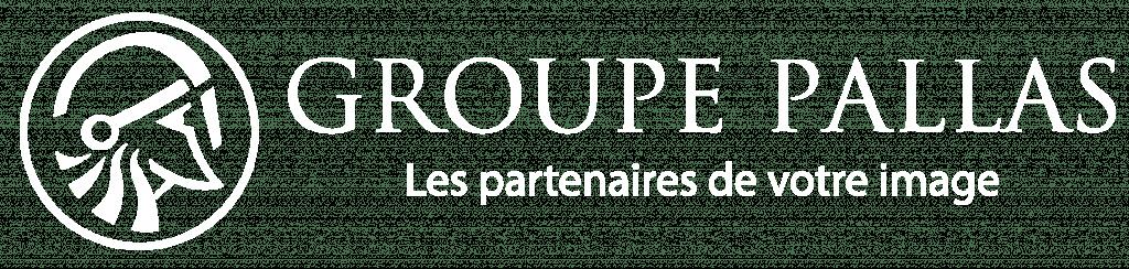 Logo Groupe Pallas blanc
