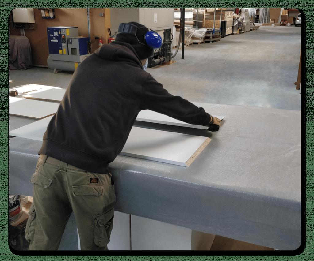 Savoir-faire: Fabrication de stand